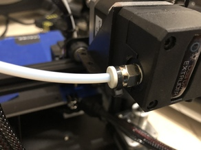 Support for Pneumatic Connector PC4-01 of BMG Dual Extruder