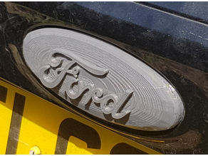 mk3 ford focus boot tailgate badge