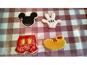 Mickey Cookie Cutter Set