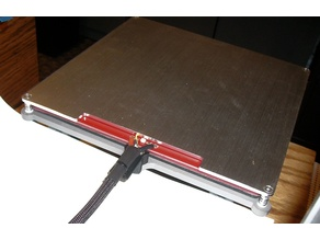 MakerFarm i3v Heat Bed Wiring High Strain Relief