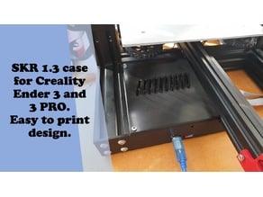 SKR 1.3 case for Creality Ender 3 and Ender 3 PRO. Easy to print design.