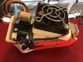 E3D V6 Mount for Da Vinci PRO no wiring