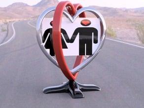 Spinning Heart Photo
