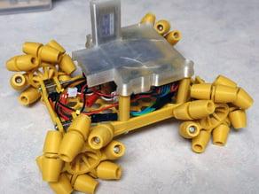 All-3d-Printed Mecanum Wheel Rover using Parametric Wheels