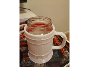 Tankard ( Fits 72MM Jar)