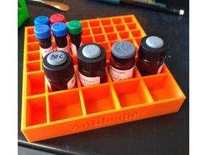 Antibody fridge storage rack