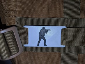 CSGO logo for Molle backpack