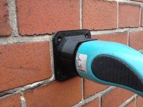 Holder for Electric Car Type 2 Mennekes Plug