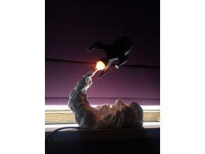 Gcreate Rocket LED Flame