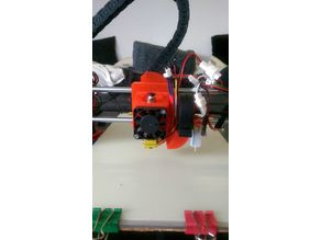 bq Prusa i3 Hephestos X-Carriage - customisable modular e3D V6 mount