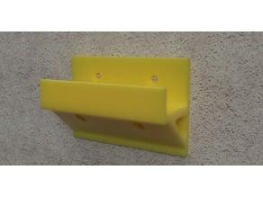 Leiterhaken / Ladder hook Wallmount [easy to print]