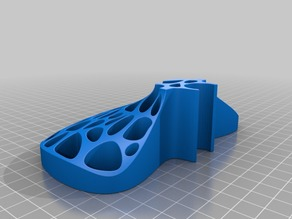 Voronoi Soapdish for 18mm Pipe