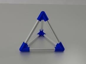 Tetrahedron Tetraedre Platon pencils Ikea
