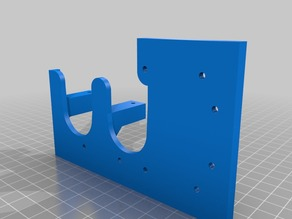 RigidBot Dual Extruder Plate & Mount (no X loss)