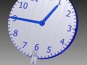 Clock Manipulative - Guess & Check