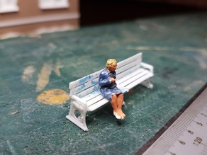 OO/HO Platform Bench