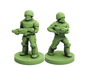 Colonial Soldiers (18mm Scale)