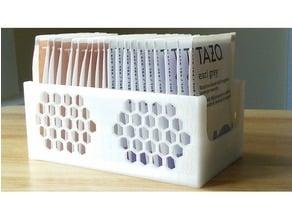 Tea Bag Caddy - Honeycomb