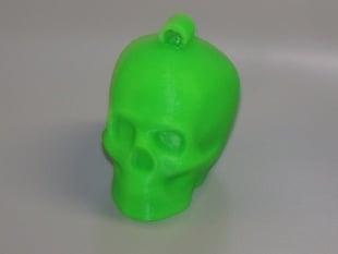 Lisa The Printable Skull Keychain