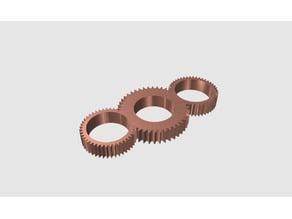 Gear Fidget Spinner (ABS)