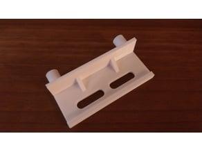 front panel mounting-bracket