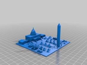 Copy of Washington D.C. Mini City Daniel Kravitz