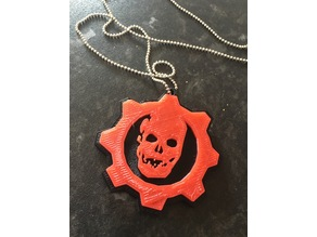 Gears of War Keyring / Pendant