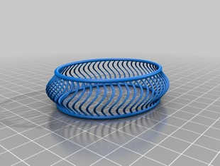 Customizable Twist Bracelet Designer