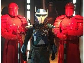Custom Mandalorian Armor - Shoulder