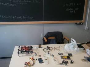 Robot a 6 zampe con 18 servomotori