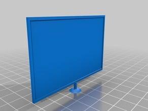 doll house flatscreen tv