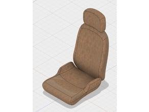 1:10 scale car seat (Regular) v2