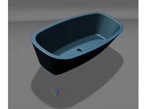 Modello di Vasca da Bagno - Design - Bathtub model