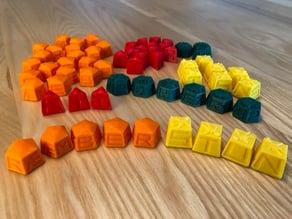 Keyforge tokens