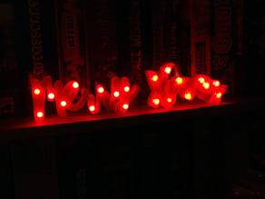 Merry Xmas Led decoration