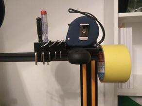 CR-10 3D printer on top tool holder Werkzeughalter
