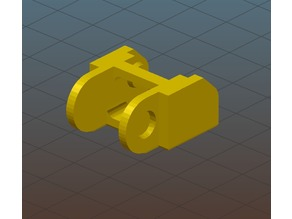 Fix for Anet A8 Y-axis Cable Chain v2 STL files to work with Slic3r