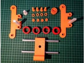 Adjustable spool holder for the Original Prusa i3 MK2