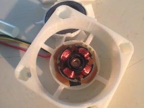 Telaio/Supporto ventola più ventola 40x40x10 Fan Support