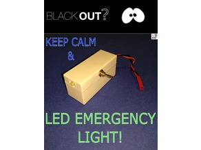 Mostly Reclaimed DIY LED Emergency Lamp