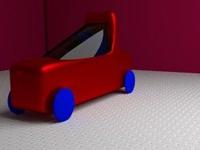 cartooney race car
