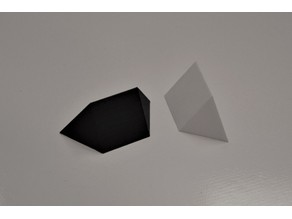 Two Piece Tetrahedron Puzzle