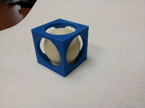 Dualstrusion Ball in Cube