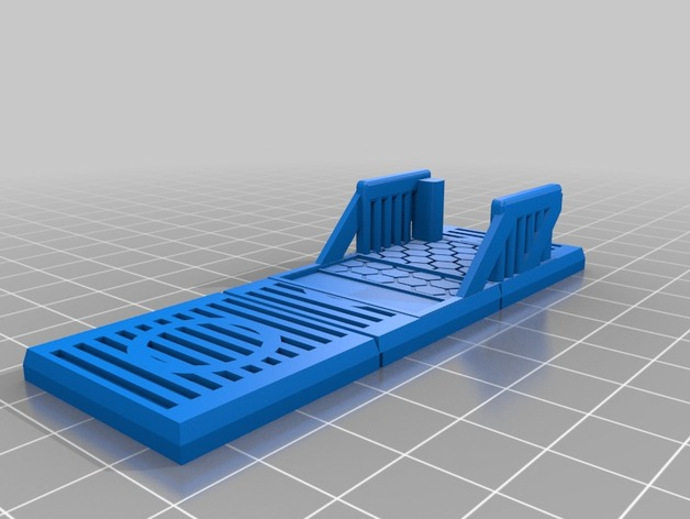 Modular Scifi Stairway Top