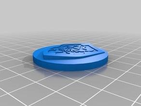 Cap Flat Zelda Hyrule Shield for Paper Towel Roll Holder