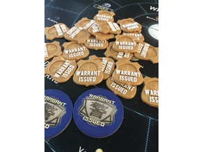 Firefly The Game - Warrant Issued tokens