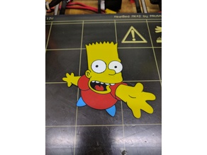 Bart Simpson multicolor