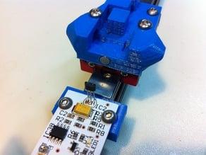 Kossel Mini - Endstop and Carriage for Hall-O Sensor