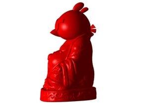 Angry Bird Buddha