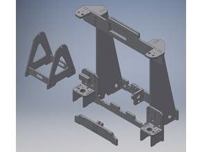 Anet A8 acryl frame